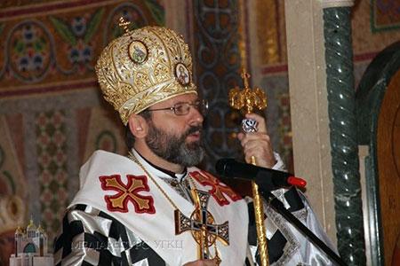 Блаженніший Святослав: «Капелани УГКЦ присутні на фронті для того, щоб уберегти наших солдатів від ненависті»