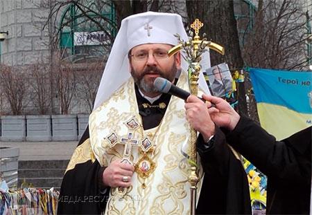 Глава УГКЦ закликав вірних у день пам'яті рівноапостольного князя Володимира відновити свої хресні обіти