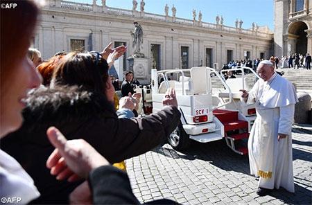 Папа Франциск: Великий Піст – це шлях надії