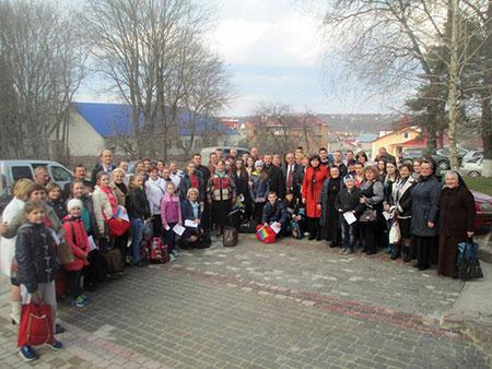 На чортківщину прибули школярі із зони проведення АТО