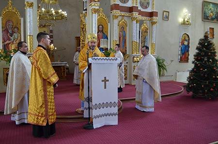 Архиєрейська Божественна Літургія з нагоди Дня народження Єпарха Бучацького