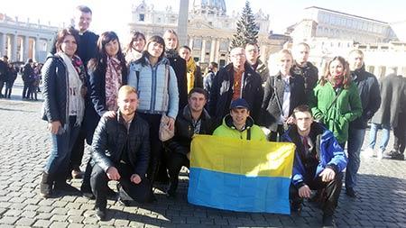 Хор «Артос»: Даруючи людям в Італії пісні і тепло України, ми і самі збагатилися багатьма Божими Дарами