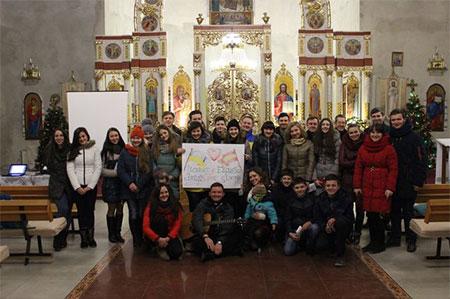 Зустріч паломників Бучацької Єпархії, які готуються на СДМ в Краків