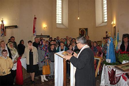 Віднова духа в костелі Скали-Подільської