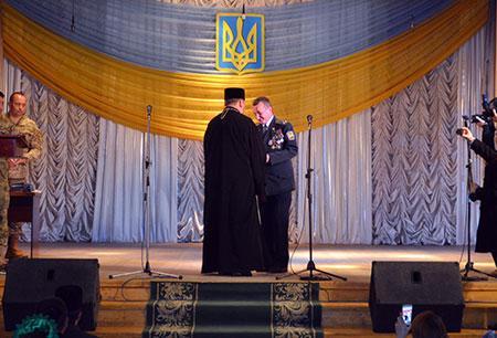 Урочистості з нагоди Дня Збройних Сил України та Міжнародного Дня волонтерів