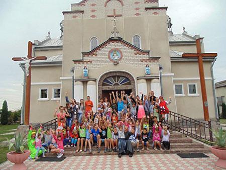 Веселі канікули з Богом в с. Мухавка