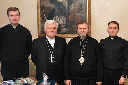 Владика Дмитро відвідав м. Авелліно (Італія)