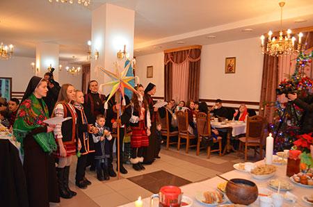 На Святвечір в єпархіальному управлінні було багато гостей