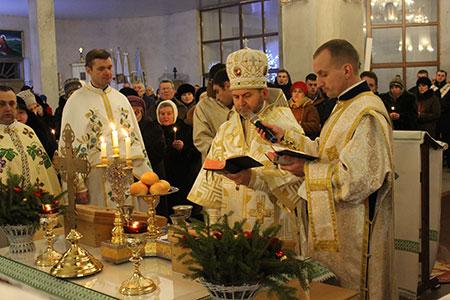 Празник Різдва Христового в Чорткові
