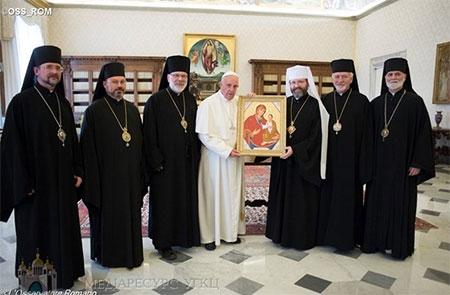 Звернення Постійного Синоду УГКЦ після зустрічі зі Святішим Отцем Франциском, Папою Римським, 5 березня 2016 року