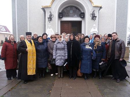 Відбулися реколекції для членів Апостольства Молитви та Матерів в Молитві в Борщівському деканаті
