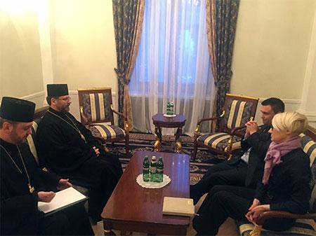 Глава УГКЦ зустрівся із міністром закордонних справ України