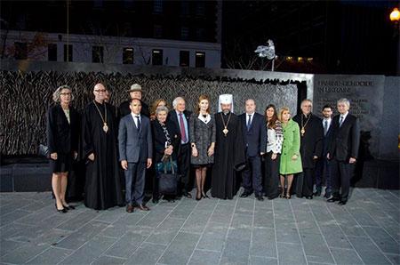 Глава УГКЦ у США бере участь у поминальних заходах з приводу чергової річниці Голодомору