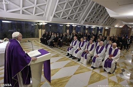 Папа: «Священик – це радісний та жертвенний посередник Божої любові»