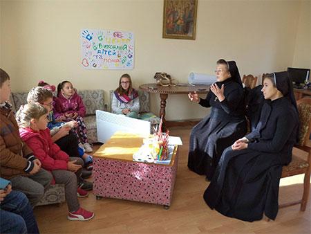 При парафії Вознесіння ГНІХ м. Чорткова розпочала роботу суботня катехитична школа