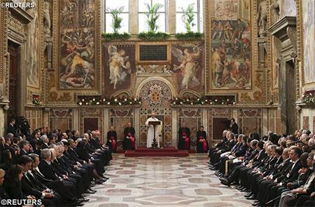 Папа побажав остаточного завершення конфлікту в Україні у Році Милосердя