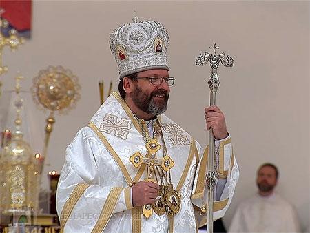 Глава УГКЦ освятив храм Софії – Премудрості Божої і нагадав про місію викладачів та студентів УКУ