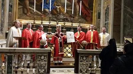 Духовенство Бучацької єпархії на 70-ій річниці Псевдособору у Ватикані