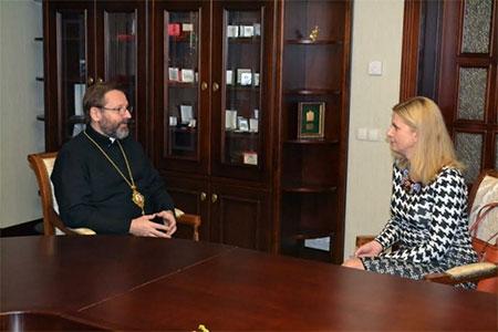 Посол Словенії відзначила важливість антикорупційної душпастирської діяльності УГКЦ