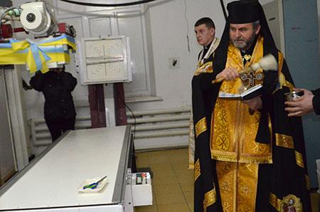 Швейцарець подарував сучасний рентгенівський апарат для ЦКЛ м. Чорткова