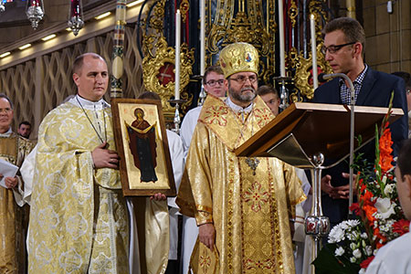 Владика Дмитро прийняв участь у ювілейних святкуваннях в Люксембурзі