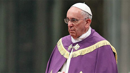 Послання Папи Франциска на Великий піст 2016