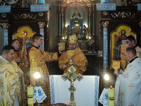 В Сосулівці освятили відреставрований храм