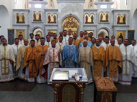 Реколекції для священиків Бучацької єпархії у Зарваниці