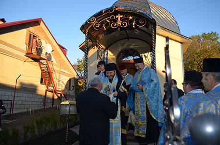 В Монастириську посвячено каплицю