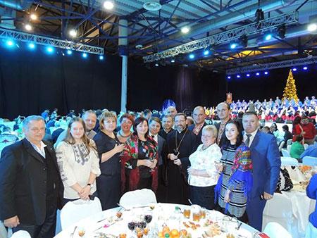 Блаженніший Святослав розділив з друзями УГКЦ різдвяну просфору