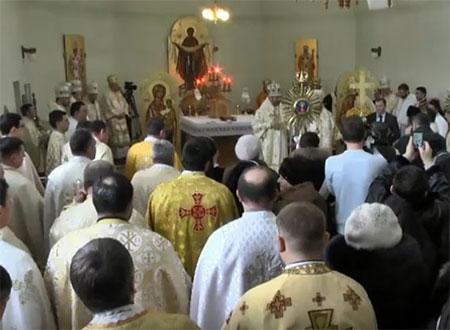 Глава Церкви разом з єпископами в день народження патріарха Йосифа Сліпого помолився в його родинному домі в Заздрості