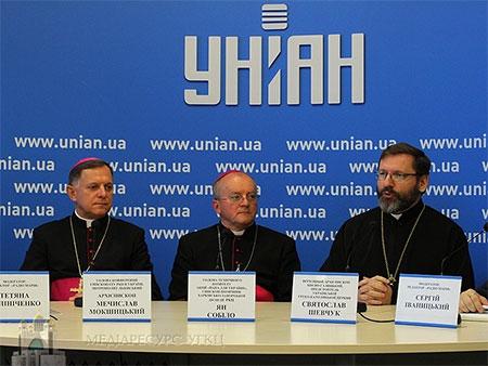 Глава УГКЦ: «Присутність Держсекретаря Ватикану в Україні, який говорить про війну, є голосом, що будить сумління європейців»