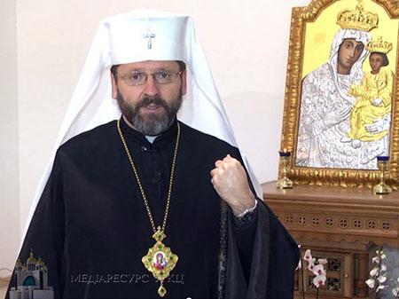 Блаженніший Святослав виступив на захист подружжя як союзу чоловіка та жінки в новій редакції Конституції