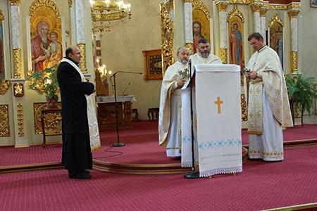 Реколекції  при Катедральному Соборі Верховних Апп. Петра і Павла  м. Чорткова