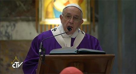 Пам'ять – важливий етап шляху віри. Папа під час подячної Святої Меси з нагоди 80-річчя