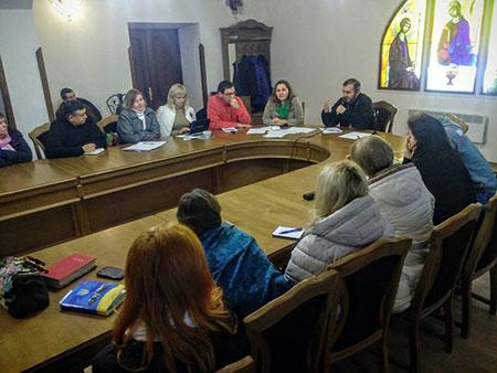 В Чорткові відбулася зустріч духівників та лідерів харизматичних спільнот
