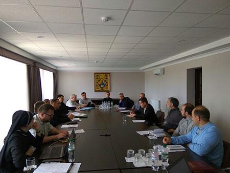 Засідання Патріаршої літургійної комісії і еклезіархів УГКЦ