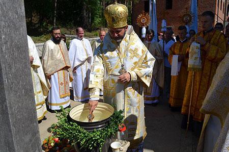 Храмовий празник у василіянській обителі м. Чорткова