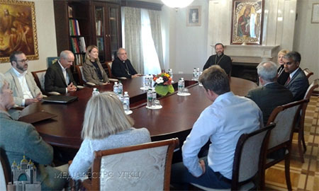 Глава УГКЦ зустрівся із представниками Католицької служби допомоги