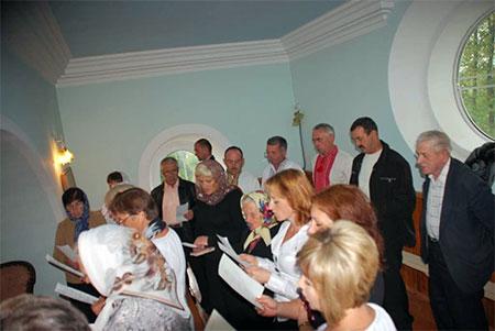 Вказівки для хору під час Архиєрейської Божественної Літургії
