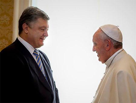 Відбулася зустріч Папи Франциска та Президента України