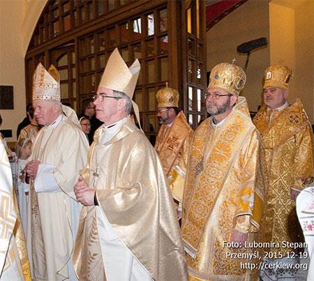 У Перемишлі відбувся Чин введення на митрополичий престол Архиєпископа Євгена Мирослава (Поповича)