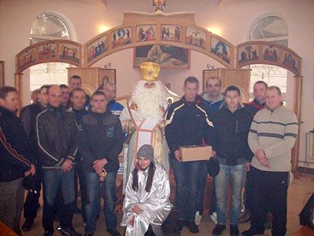 Святий Миколай завітав у Чортківську установу виконання покарань управління ДПтС України в Тернопільській області (№26)