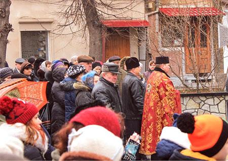 В Скалі-Подільській вшанували пам'ять Небесної Сотні