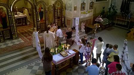 Реколекції для спільнота подружь «Домашня Церква» в м. Бучачі