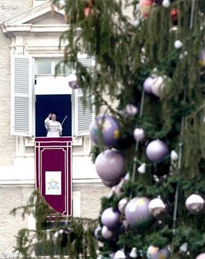Церква, навіть з плямами та зморшками, завжди є Матір'ю. Папа Франциск на молитві «Ангел Господній» 20 грудня 2015
