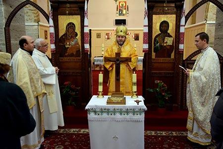 Владика Дмитро Григорак очолив святкування парафіяльного празника в Ліоні