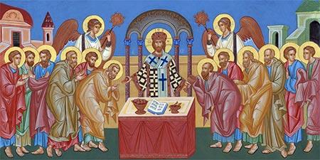Що маємо знати про храм і богослужіння? Божественна Літургія. Слово «літургія»