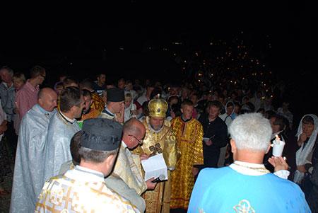 Єпархіальна проща в Савелівці за мир і спокій в Україні