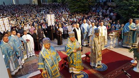 Уперше в Україні відбувся з'їзд Марійських центрів Європи